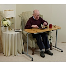 Table de déjeuner et de lecture Duo