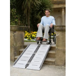 Rampe valise pliable 152 cm