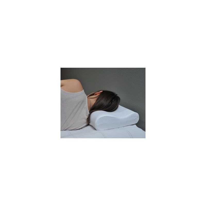 oreiller vegelya petit cervical 47 x 30 cm. Black Bedroom Furniture Sets. Home Design Ideas