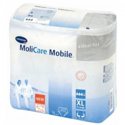 MoliCare Mobile Extra Taille XL, vendu par carton de 4 paquets