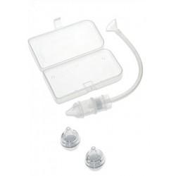 Mouche-bébé ergonomique double filtre